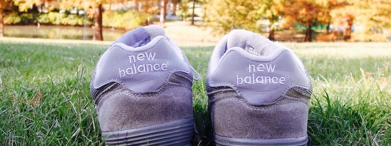 New Balance Shoes at Sam Houston Park (Photo by Niki Lanter)