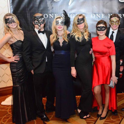 Masquerade Ball - Masked Guests (Photo by Bobby Guliani)