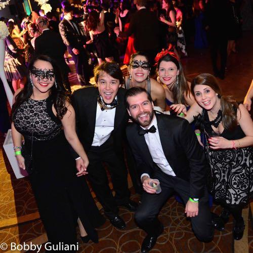 Masquerade Ball - Guests Enjoying the Party (Photo by Bobby Guliani)