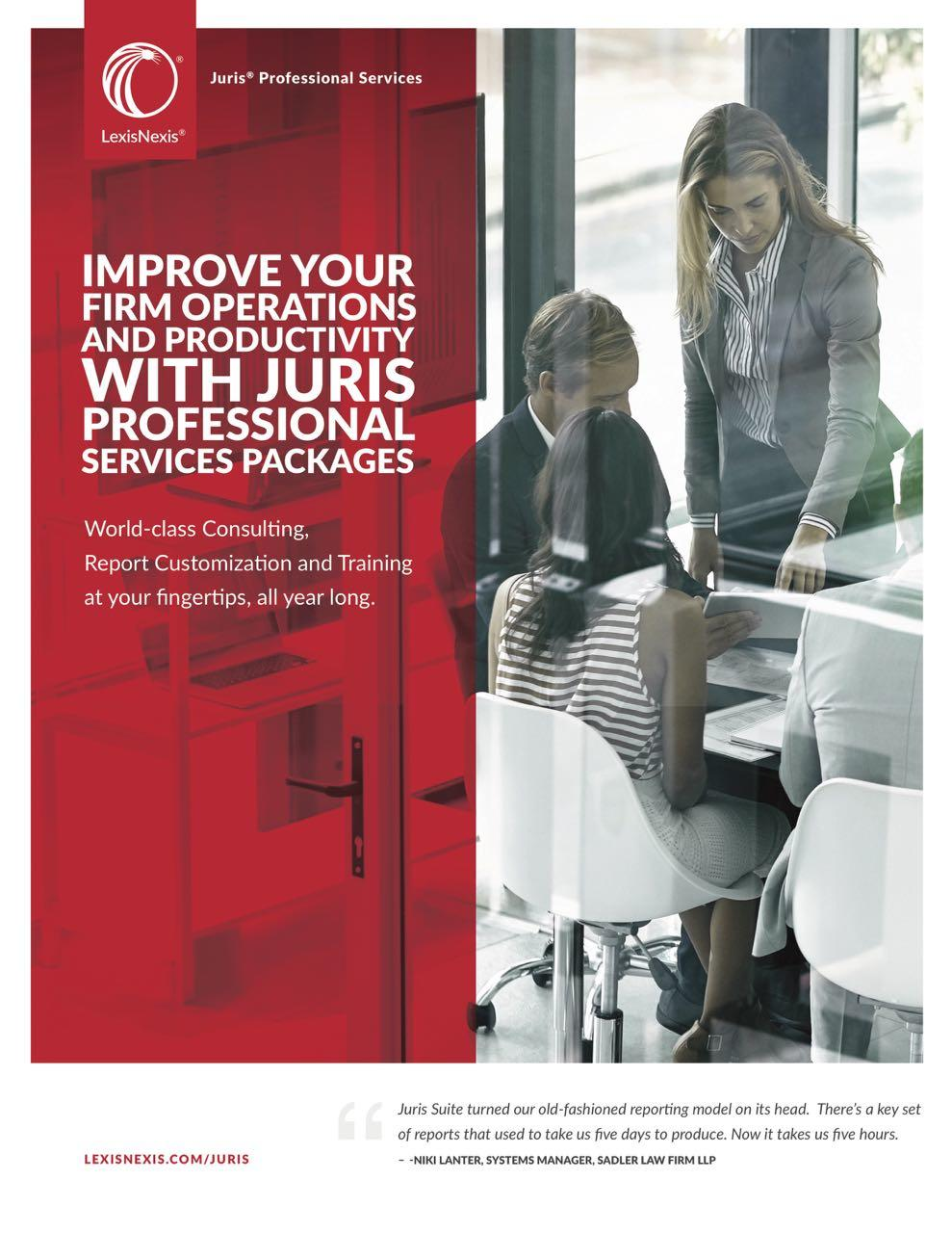 LexisNexis Juris Brochure Cover