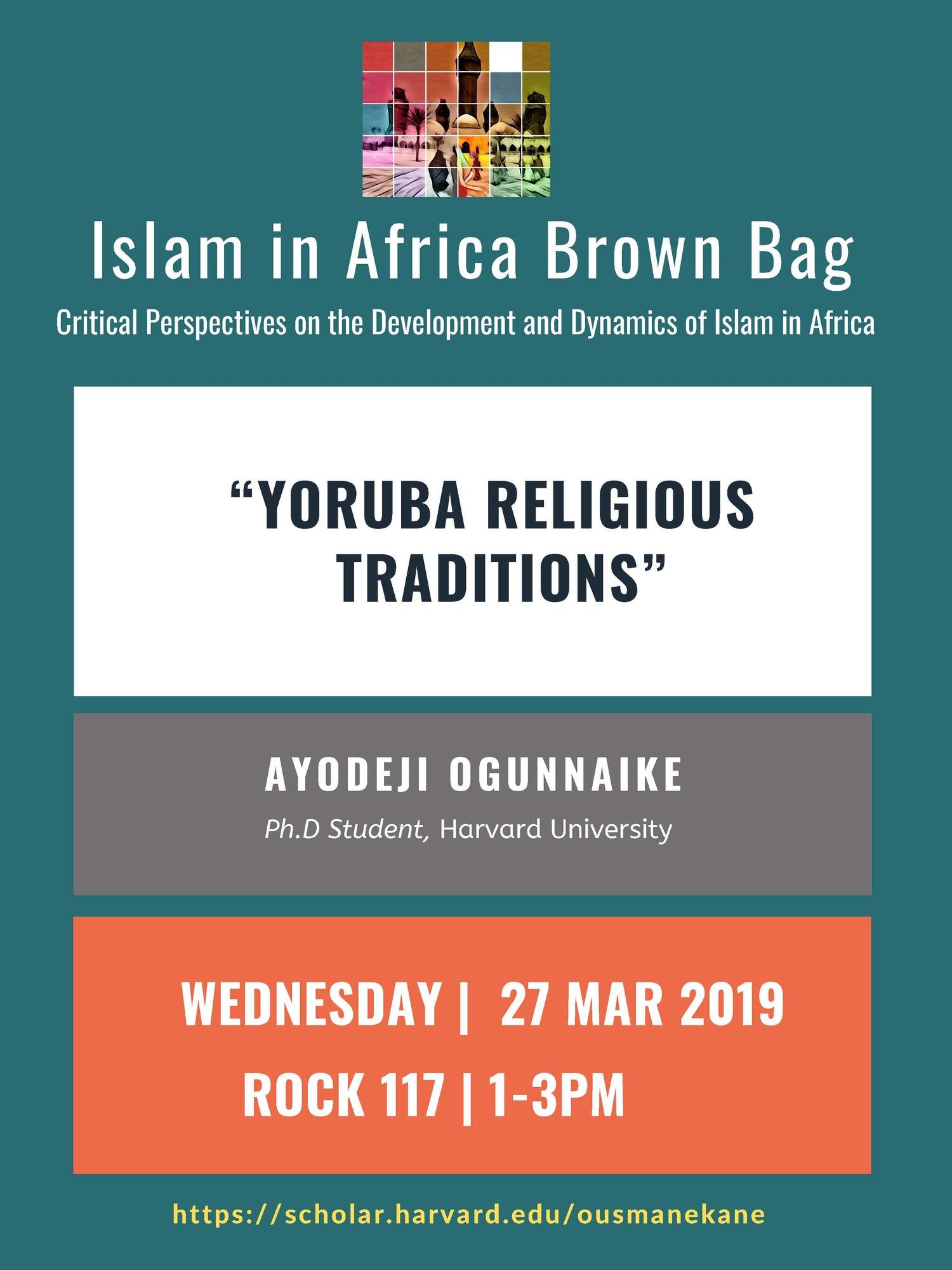 Islam in Africa March 27