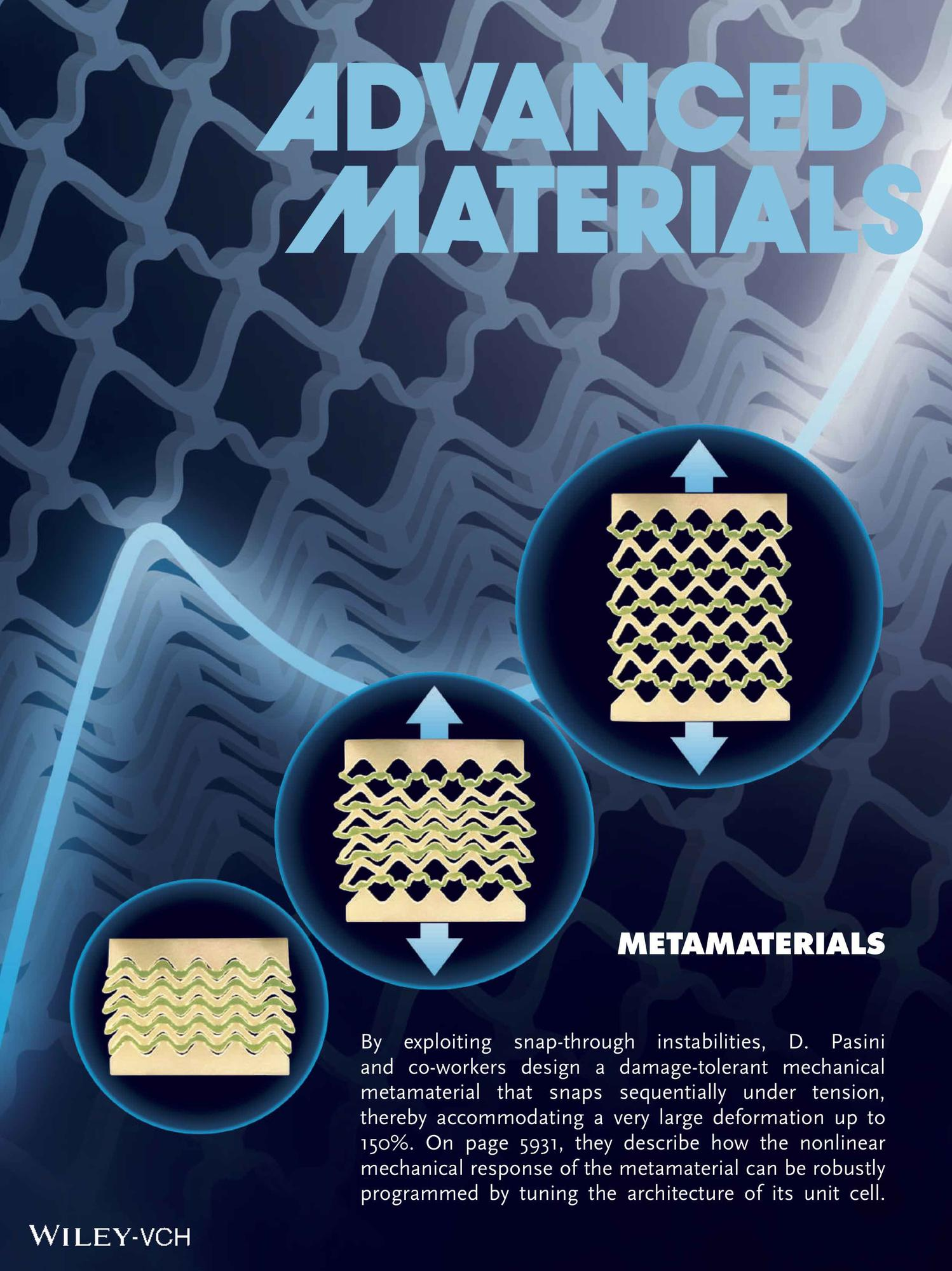 snapping metamaterial
