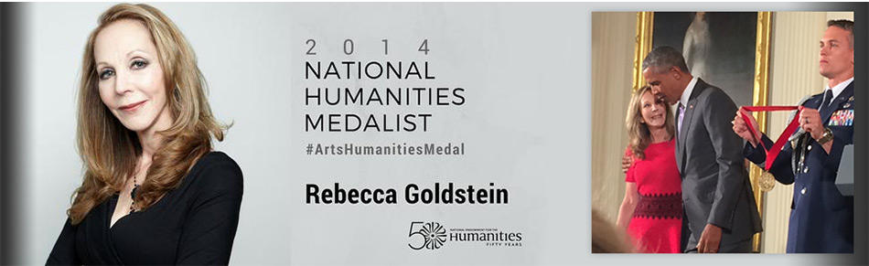 Rebecca Goldstein awarded National Humanities Medal by President Obama