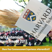 Harvard Extension Commencement 2017