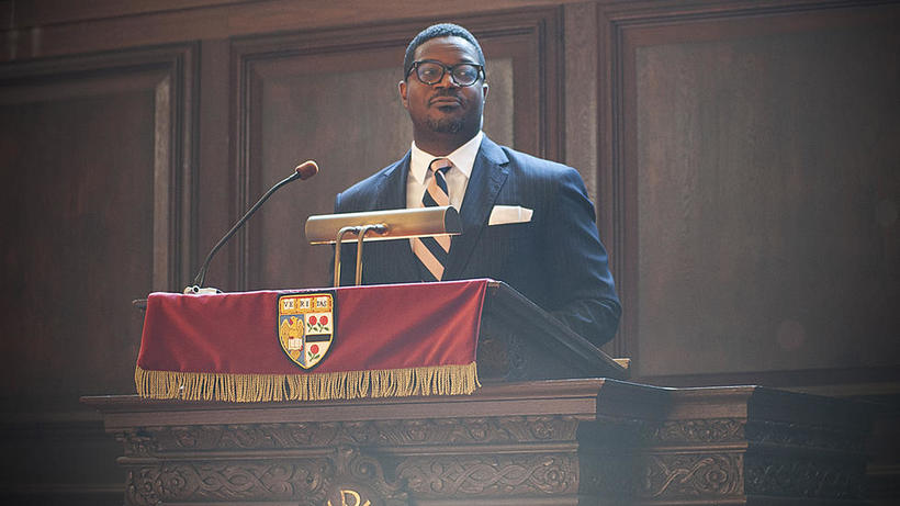 Jonathan L. Walton speaks at Morning Prayers
