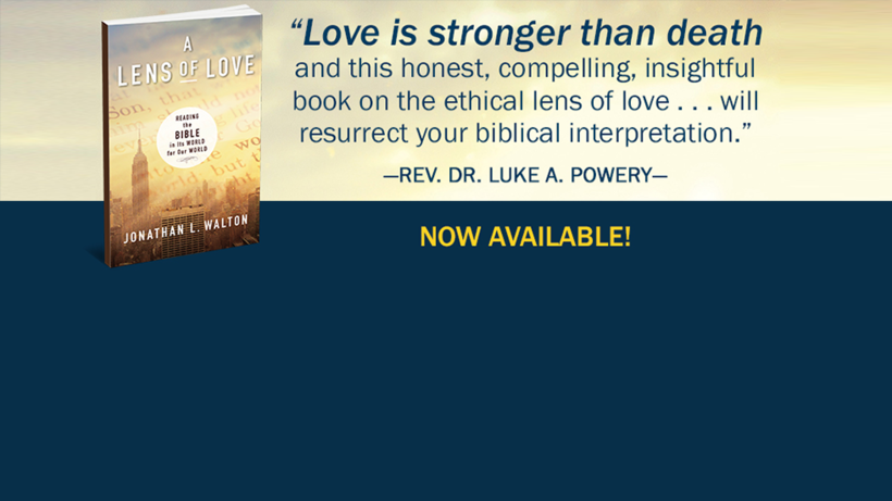 New Book from Jonathan L. Walton: A Lens of Love | Available this September