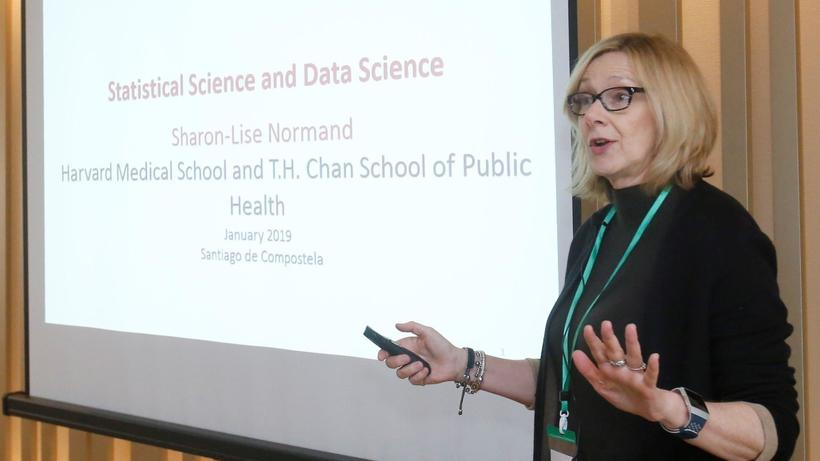 Dr. Normand delivered the keynote lecture on Statistical Science and Data Science