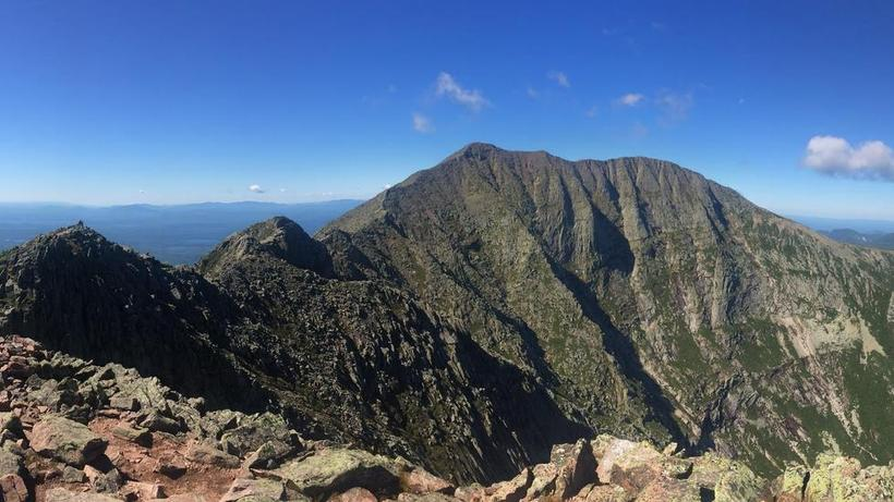 Mount Katahdin, Maine August, 2016