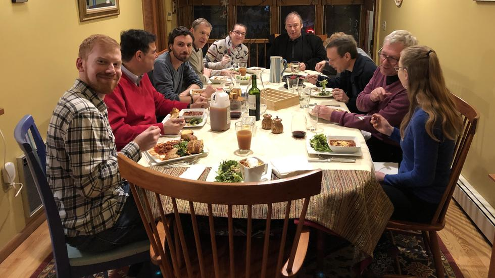 Dinner for Andi Burkert & Dan Kammen
