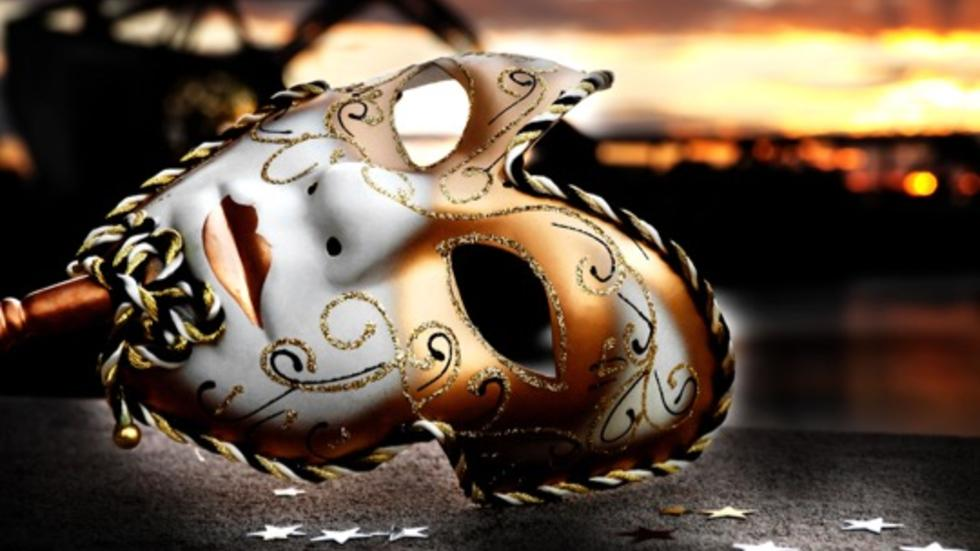 Masquerade Ball - Mask on the Dock