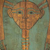 Detail of Mut-iy-iy Coffin that came to the museum from modern-day Thebes, Egypt, between 1901 and 1902.